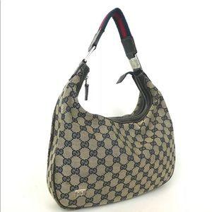 Gucci GG Pattern Shoulder Bag